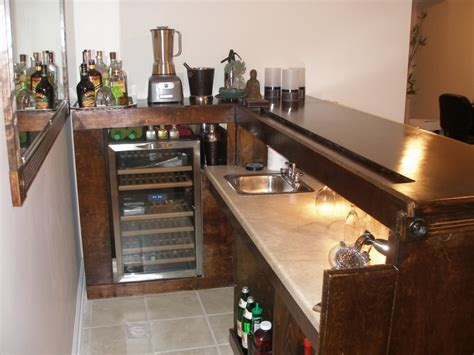 52 basement bar build how to repairs how to build a bar