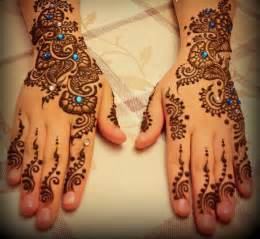 Gallery For > Arabic Henna Patterns