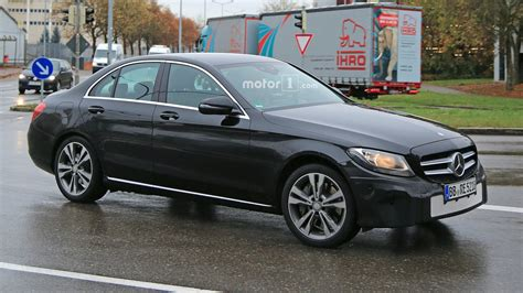 2018 Mercedesbenz Cclass Freshens Up In New Spy Shots