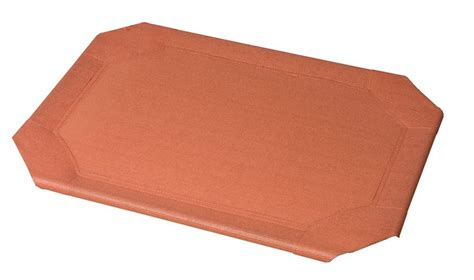 Coolaroo Bed by Coolaroo Raised Pet Bed Replacement Covers Terracotta