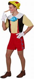 Pinocchio Mens Fancy Dress Disney Fairytale Book Day Week ...