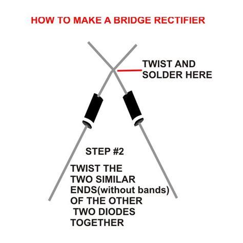 How Build Bridge Rectifier Works
