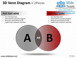 3d Venn Diagram 2 And 3 Powerpoint Presentation Templates