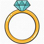 Template Ring Line Diamond Cool Icon Icons