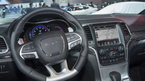 srt jeep 2016 interior auto show de los ángeles 2015 jeep grand cherokee srt