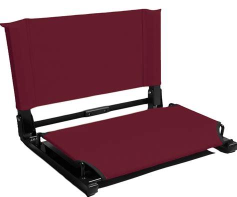 stadium chairs for bleachers walmart stadium chair bleacher seat wsc1 deluxe model 3 quot wider