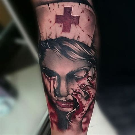 Space Zombies Tattoos