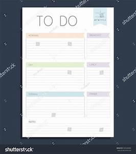 electronic checklist template - vector color template do list blank stock vector 365048486