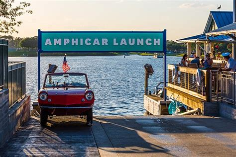 Boat Car Disney Springs by Hicars And Classic Water Experiences In Disney Springs