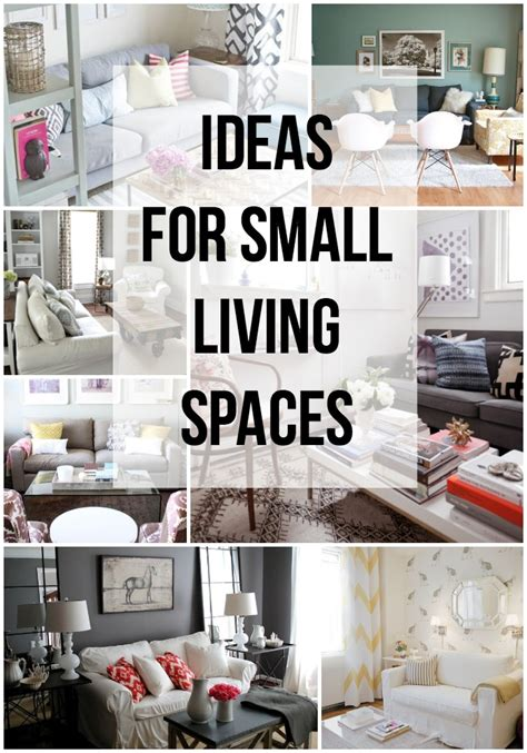ideas  small living spaces