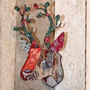 Tete De Cerf Deco : miho bunches tete de cerf decoration murale ~ Teatrodelosmanantiales.com Idées de Décoration