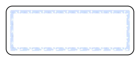 snowflakes background address label label templates