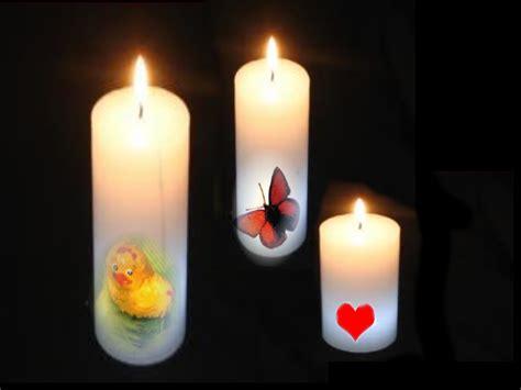 decorare le candele bisbigli tecnica decoupage per decorare le candele