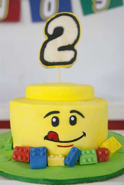 ideas  lego birthday cakes  pinterest