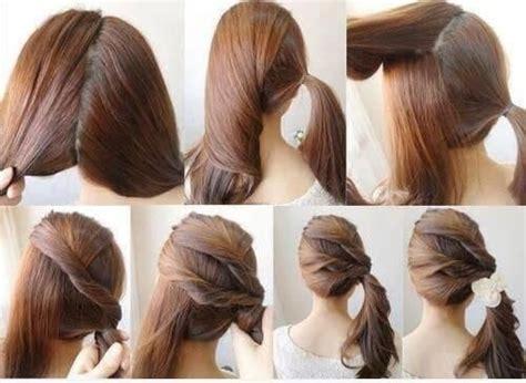 peinados informales  pelo largo los peinados