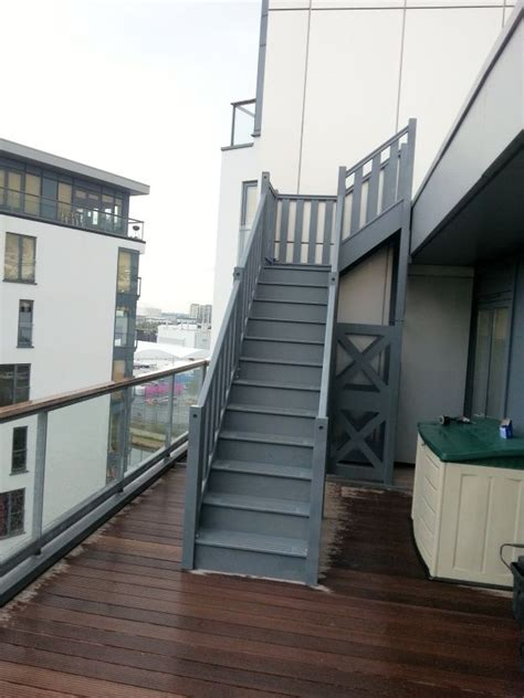 outdoor staircases external hardwood staircases