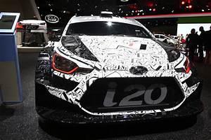 Rallye Automobile 2016 : 2017 hyundai i20 wrc rally car previewed at paris motor show car magazine ~ Medecine-chirurgie-esthetiques.com Avis de Voitures