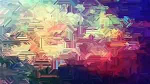 Abstract, Digital, Art, Warm, Colors, Wallpapers, Hd, Desktop