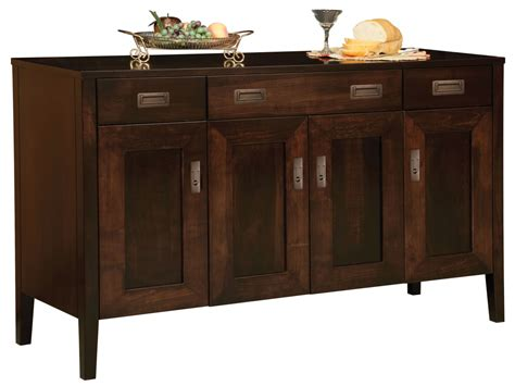 Dining Room Sideboards And Buffets, Amish Made Oak