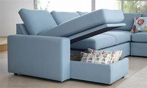 Sofa bed clearance ideas homesfeed for Sectional sleeper sofa with storage and pillows
