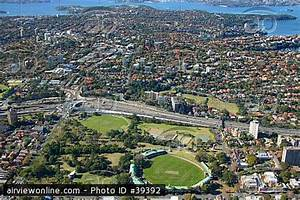 North Sydney Oval   Airview Online Aerial Stock Photo (ID ...
