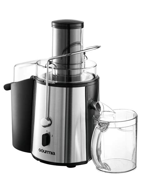 juicer centrifugal fruit gourmia vegetable mouth juice extractor wide gj amazon clean easy juicing ratings machine 850w settings multiple stainless