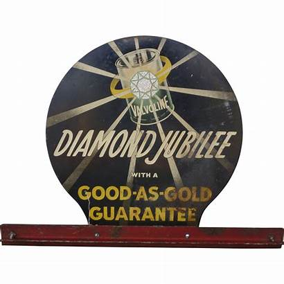 Valvoline Oil Motor Sign Advertising Early 1382