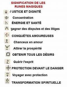 Symboles De Protection Celtique : signification de les runes magiques de le talisman runique ecriture pinterest tatouage de ~ Dode.kayakingforconservation.com Idées de Décoration