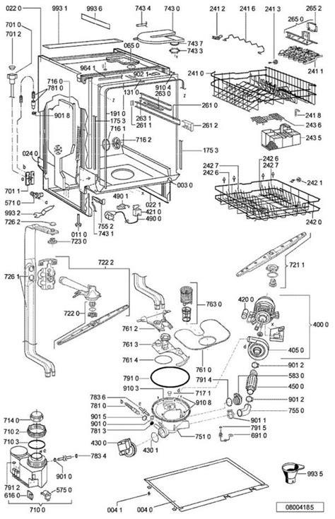 pieces detachees lave vaisselle vue 233 clat 233 e et pi 232 ces d 233 tach 233 es pour le whirlpool lave vaisselle adg8532wh 854285329830