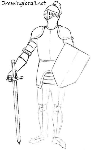 draw  knight  beginners drawingforallnet