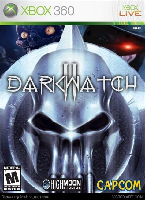 darkwatch 360 box xbox 10th 2006 updated september