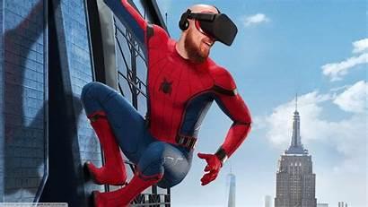 Spiderman Homecoming Wallpapers Spider Desktop Vr Oculus