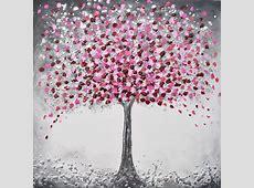 Cherry Blossom Tree Original painting by Amanda Dagg