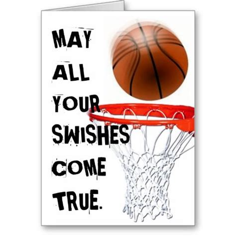 basketball birthday greeting card zazzlecom greeting