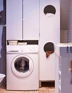 Waschmaschinenschrank Mit Tür : waschmaschinen schrank im bad badideen pinterest zuhause b ros und suche ~ Sanjose-hotels-ca.com Haus und Dekorationen