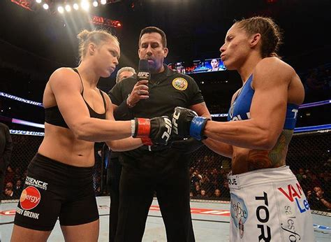 ufc   happened  ronda rousey debuted