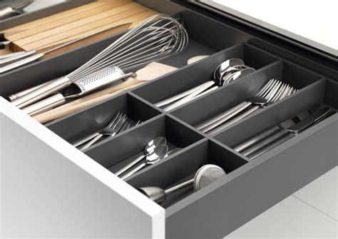 Schubladen Organisation Küche by Besteckeinsatz Nach Ma 223 Das Grass Besteckkasten System