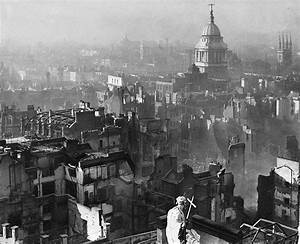 London Blitz Bomb Damage View From St Paul's Cathedral ...