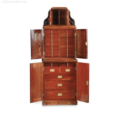 coin cabinets for sale scottish mahogany coin collector 39 s cabinet antiques atlas
