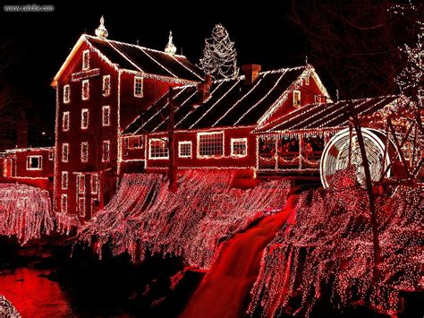 holiday lights in delaware buildings city christmasat clifton mill ohio picture