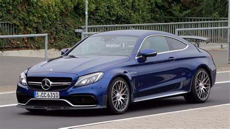 mercedes amg   coupe spy pics photo