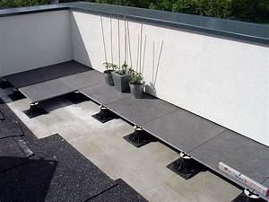 Terrasse Sur Plot : concept et pose du carrelage sur plot ~ Melissatoandfro.com Idées de Décoration