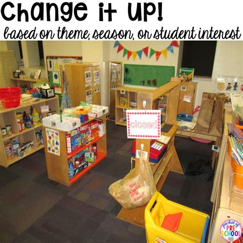 how to set up the dramatic play center in an early 554 | Slide19