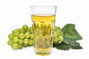 Glass of grape juice isolated on white background | Stock ...