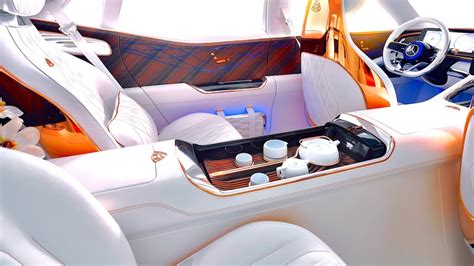 2021 mercedes maybach gls 600 interior. Maybach INTERIOR Bespoke Gold Seats Tea Set Limited Edition Mercedes SUV Interior 2019 CARJAM ...