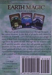 Earth Magic Oracle Cards  A 48-card Deck And Guidebook Cards  U2013 November 1  2010