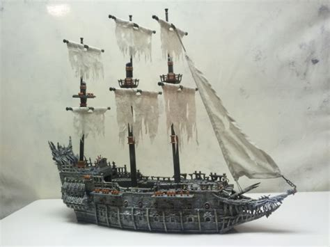 Pirates Caribbean Mega Bloks Flying Dutchman Ship 1067