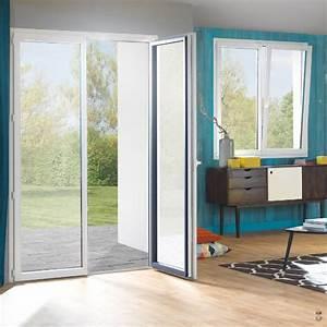 porte fenetre pvc sur mesure porte fenetre pvc pas cher With porte de garage coulissante avec portes fenetres pvc renovation