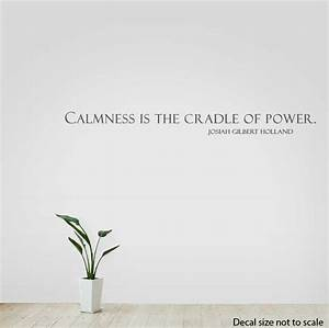 Calmness Is The... Power Of Calmness Quotes