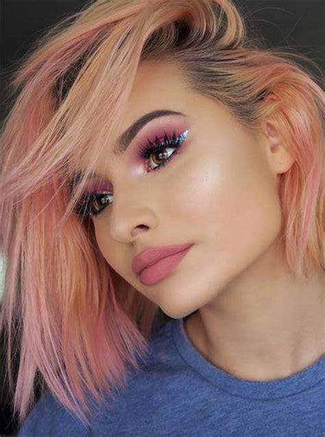 26 Pretty Peach Hair Color Ideas How To Dye Your Hair
